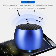 Spherical Ultra Portable TWS Bass Bluetooth Hifi Speaker Metal Outdoor Wireless Sound Box With Mic