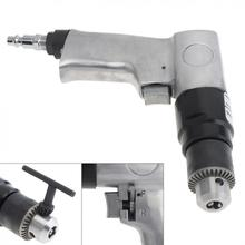 цена на 1/4 1700rpm High-speed Positive Reversal Pistol-type Pneumatic Gun Drill with Chuck Wrench and Connector for Hole Drilling