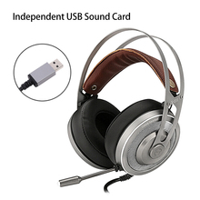 X200 Gaming Headphones For Computer Pc Games Wired Earphone Led Hd Bass Usb Gaming Headset For Ps4 Xbox One With Microphone somic g941 headphones for computer gaming headset with microphone wired usb bass headphone for pc