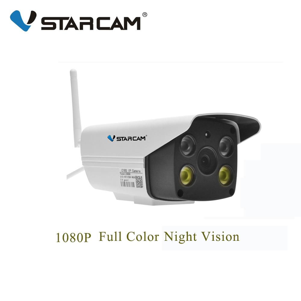 Vstarcam C18S 1080P Wifi IP Camera Onvif 2 MP Outdoor Weatherproof IR Full Color Night Vision Security Video Surveillance Camera