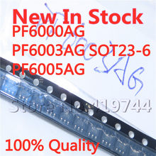 5 PÇS/LOTE 100% Nova PF6000AG PF6003AG PF6005AG 6000A 6003A 6005A SOT23-6 SMD chip de potência IC