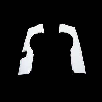 Accessori Per Auto GTR Style In Fibra Di Vetro Posteriore Più Ampia Fender FRP In Fibra Di Vetro Wheel Arch Flare Cover Set Fit Per Nissan Skyline R34 GTT