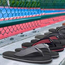 Marca flip flops sapatos masculinos sandálias de verão sandálias de praia casuais conforto chinelos de alta qualidade sapatos masculinos grande tamanho 48