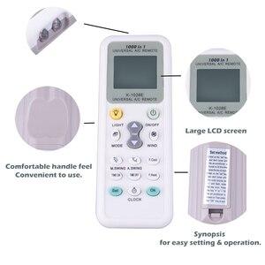 Image 2 - K 1028E العالمي انخفاض استهلاك الطاقة K 1028E تكييف الهواء عن بعد LCD تحكم عن بعد تحكم عن بعد