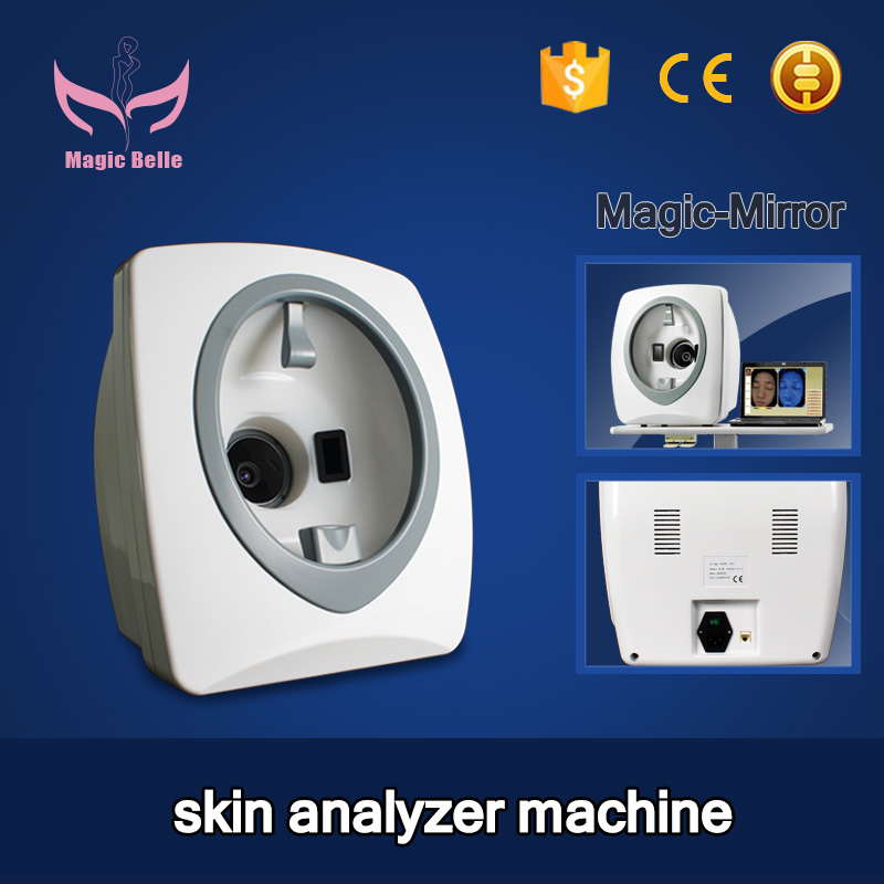 Well Effect Magic Mirror Skin Testing Analyzer Facial Care UV Light Equipment With CE Approval
