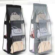 Handbag-Organizer Shoe-Bag Hanger-Pouch Wardrobe Closet Hanging Door-Wall Clear Transparent