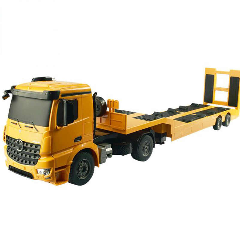 Remote Control Toy Tractor Flatbed Truck Truck Tractor Trailer Child Electric Remote Control Engineering Truck Boy Toy Gift Aliexpress