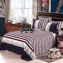 Простыня+ подушка, комплект из трех предметов, Декор, брендовые хлопковые простыни для дома, Текстиль для дома, постельный лист, цветочный узор, протектор