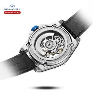 Image 3 - 2020新カモメ腕時計メンズ自動機械式中空視点機械式時計大型ダイヤル防水人格の腕時計