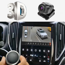 3D HD 360 Surround View System G-Sensor Parking recording Driving With Bird View Panorama System 4 Car Camera 3D 1080P DVR