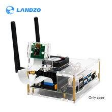 NVIDIA Jetson Nano Developer kit, zestaw narzędzi dla jasne akrylowe etui do Jetson Nano z wentylatorem chłodzącym
