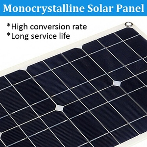 Image 5 - Hot 3C 100W 18V Dual USB Solar Panel Battery Charger Solar Controller for Boat Car Home Camping Hiking
