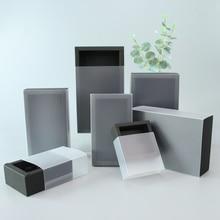 5pcs / 10pcs / PVC black transparent packaging carton beautiful candy gift pull small carton support custom logo