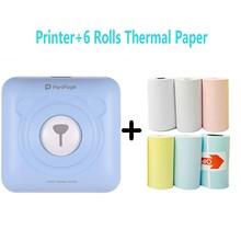 Mini Portable Thermal Printer Paper Photo Pocket Thermal Printer 58 Mm Printing Wireless Bluetooth Android Ios Printers Printers cheap HIPERDEAL Wired Wireless Dot-matrix NONE CN(Origin) manual 20ppm 220-240V(±10 ) Public Usage GM rolls dot matrix printer