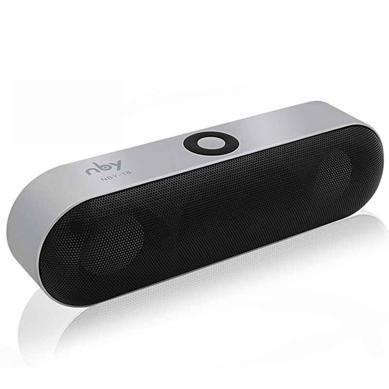 Baru NBY-18 Mini Bluetooth Speaker Portable Wireless Speaker Sound Sistem 3D Musik Stereo Surround Mendukung Bluetooth,TF AUX USB