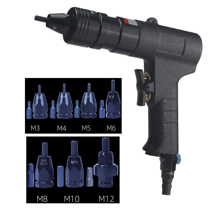 Pneumatic Riveters Pneumatic Pull Setter Air Rivets Nut Gun M3/M4/M5/M6/M8/M10/M12