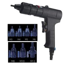 цена на Pneumatic Riveters Pneumatic Pull Setter Air Rivets Nut Gun M3/M4/M5/M6/M8/M10/M12
