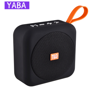 YABA Wireless Mini Bluetooth Speaker Stereo Portable Speakers Subwoofer Bluetooth with SD FM Outdoor Column Loudspeaker portable war drum waterproof bluetooth speaker outdoor bicycle subwoofer bass wireless speakers mini column box loudspeaker