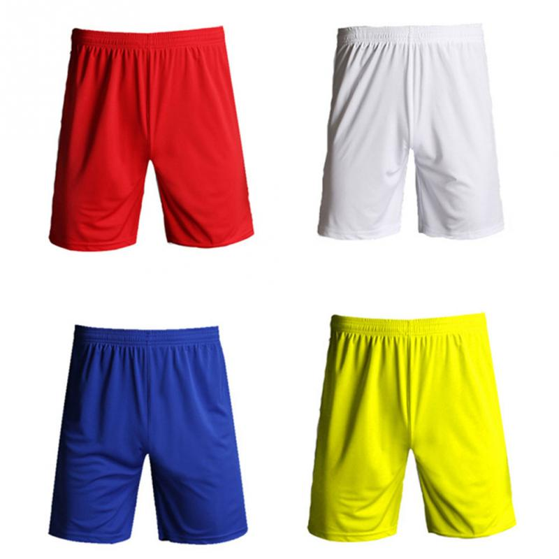 Adult Soccer Pants Men Women Breathable Sweat-absorption Quick Dry Football Shorts Team Training Trousers Jogging Running Gym