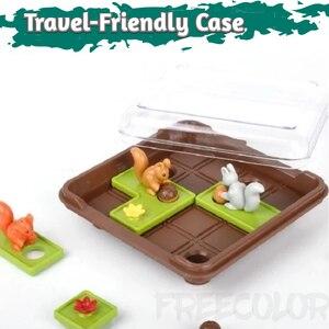 Image 3 - リスナットを行くスライドパズル旅行ゲーム子供のための認知スキル脳ゲーム年齢のため6 60チャレンジで旅行にやさしいケース