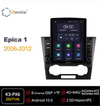 Ownice Octa 8Core Android 10.0 Mobil Radio ForChevrolet Epica 1 2006 2011 2012 GPS 2 Din Mobil Stereo Player 4G LTE Tesla Gaya(China)