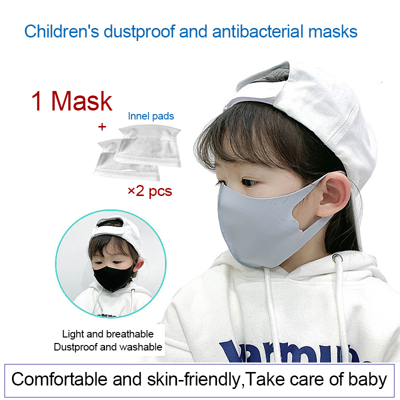 K08 For Children's Face Mask  Breathable Washable Mouth Mascarilla Girls Boys Mouth Masks For 3-11 Year Baby