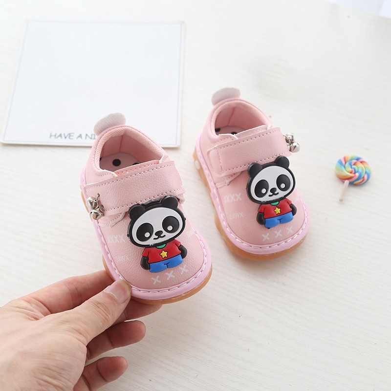 เด็กรองเท้าเด็กรองเท้าเด็กผู้หญิงรองเท้าเด็ก PU หนังเจ้าหญิงเด็กแรกเกิด New Born Girl รองเท้า First Walker รองเท้า