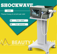 Germany Imported Compressor 8 Bar Infinite Shots Shock Wave Machine Shockwave Therapy Machine Extracorporeal Shock Wave Therapy