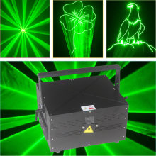 Free Shipping DMX DJ Disco Party Green Laser Lighting dual stage twinkling star ILDA laser projector(China)