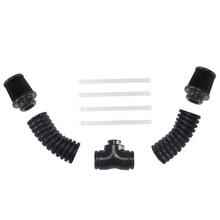 V8 Elektrische Auto Teile Lüfter Aluminium Legierung Zubehör Integrierte DIY Motor Staubdicht Professionelle Simulierte Heizkörper
