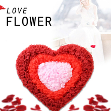 200Pcs Romantic Artificial Rose Petals Wedding Party Decoration Flower Photography Prop Room