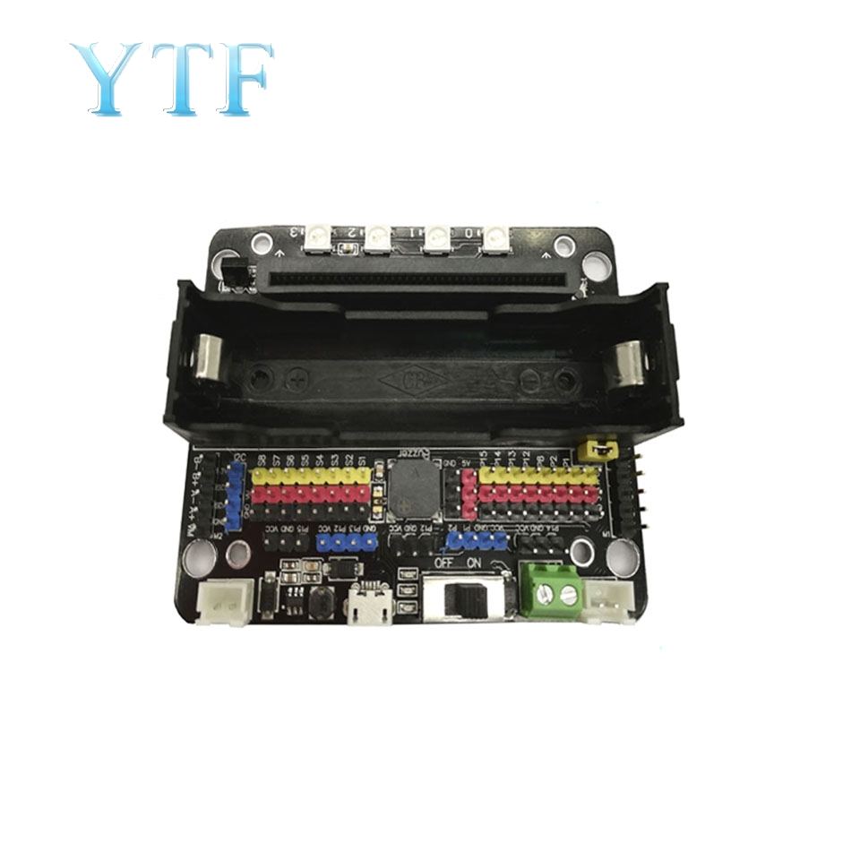 MICROBIT Expansion Board Microbit Adapter Plate Smart Car DIY Robot Programmed To Expand Python