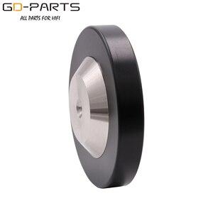 Image 5 - GD PARTS нержавеющая сталь графитовый динамик шип конус Hifi аудио AMP CD Studio проигрыватель изолирующая подставка ножки основание 39 мм