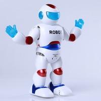 3995a Gold Xinping Flash Music Dancing Robot 360 Degree Rotating Children Space Electric