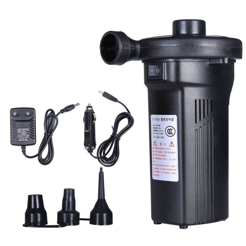 Rechargeable Electric Air Pump Inflate Deflate Nickel Cadmium Battery Inflatable Household Car Air Pump K92D