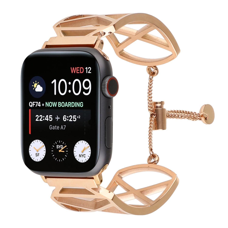 Suitable For Apple Watch Bracelet Watch Strap APPLE Watch Stainless Steel Watch Band IWatch Bracelet Watch Strap