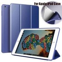 soft tpu For Capa iPad Pro 12.9 10.5 Silicone Soft TPU 2019 Smart Case Heat Dissipation Auto Wake Sleep For iPad Mini air 1 2 3 4 Case (1)