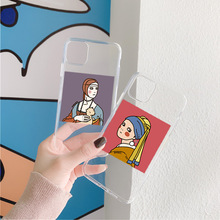 Cute Girl Illustraction Phone Case For Samsung