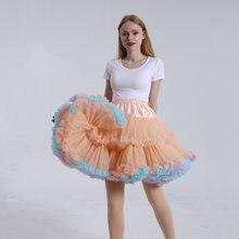 50 см в стиле «лолита» конфеты Цветной облако Пышное юбка пачка