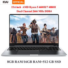 KUU G3 15 6 Inch FHD Screen AMD Ryzen 7 4800H Metal Shell 16GB DDR4 512GB SSD Fingerprint Windows 10 for Computer Programming