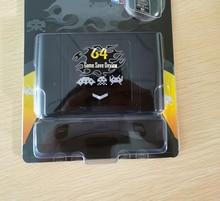 N64 비디오 게임 콘솔 지역 용 64 비트 레트로 340 in 1 게임 카드 소매 상자가있는 무료 NTSC 및 PAL 게임 카트리지
