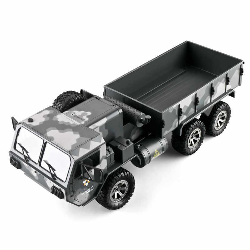 Eachine EAT01 1/16 2.4G 6WD RC araba oransal kontrol abd ordusu askeri kamyon RTR araç modeli yüksek hızlı RC arabalar
