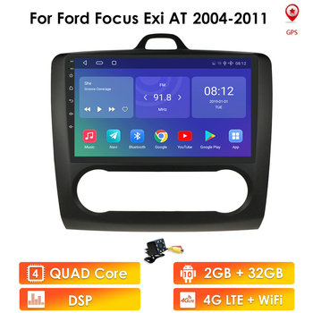 2G+32G Android 10 auto radio For ford focus 2 Mk2 2004-2011 Car Radio Multimedia Video Player Navigation GPS RDS 2 din dvd wifi image