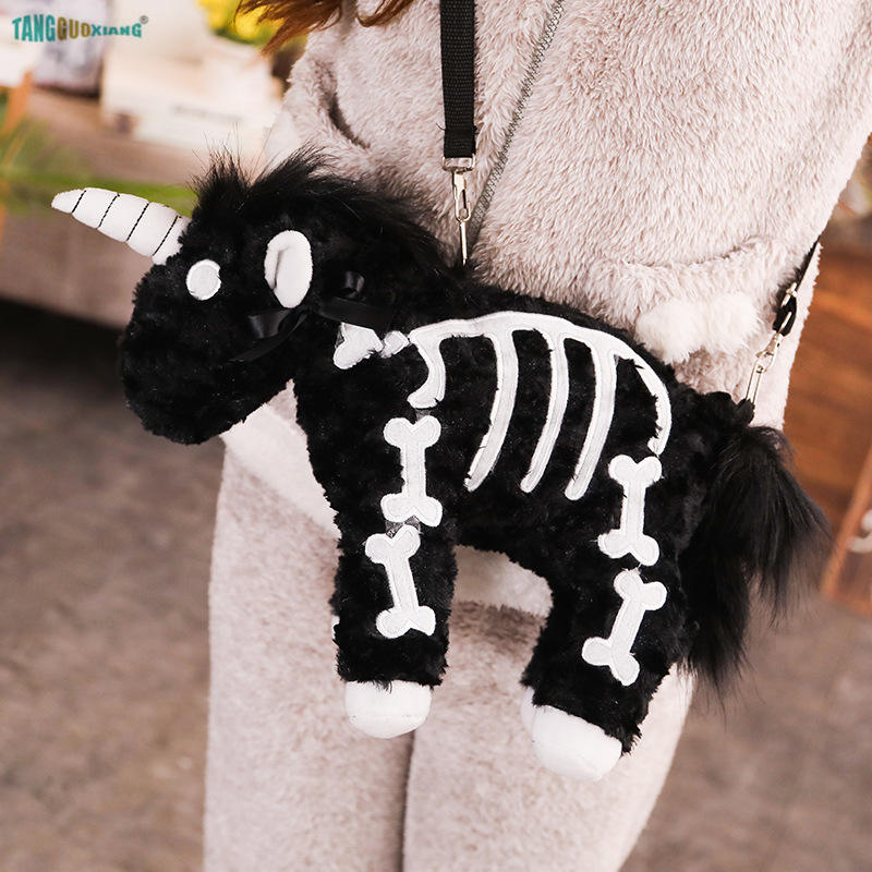 Kids Package Cute Children School Bag 40cm Unicorn Backpack Packet Bags Personality Animals Toys Bag