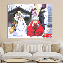 Print Modular Picture Wall Art Canvas Painting Japanese Anime Characters Inuyasha Nordic Style Poster Home Decor For Living Room