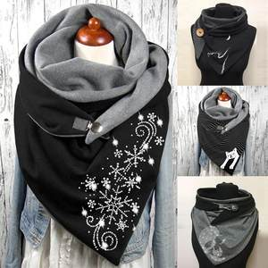 SScarves Shawls Soft-...