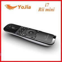 원래 Rii i7 플라이 에어 마우스 원격 제어 미니 i7 2.4G 무선 에어 마우스 안 드 로이드 TV 상자 X360 PS3 스마트 셋톱 박스 PC
