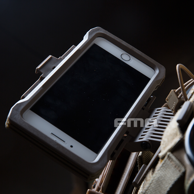 FMA Airsoft For Ip Xs Max Mobile Case Pouch Molle Tactical Case Outdoor Hunting Accessories Equipment Molle Pouch Vest Bag