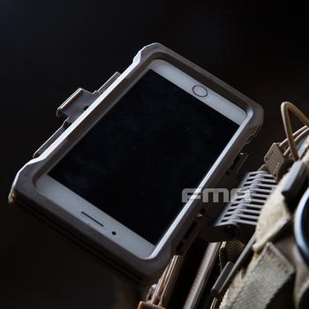 FMA Airsoft dla Ip Xs Max etui na telefony komórkowe Molle taktyczne etui na telefony zewnętrzne akcesoria myśliwskie sprzęt pokrowiec Molle torba-kamizelka tanie i dobre opinie Wolfslaves Polowanie NYLON MO19042602998 For Iphone Xs Max