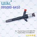 ERIKC 095000-6410 инжектор Common Rail Инжектор в сборе сопло 6410 OEM 8976024855 8976024854 23670-0L010 23670-0L070 для Denso